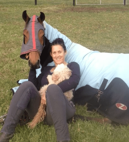 VICTORIOUS 'GLADIATOR' SWITCHES TO DRESSAGE Victoria Ferguson