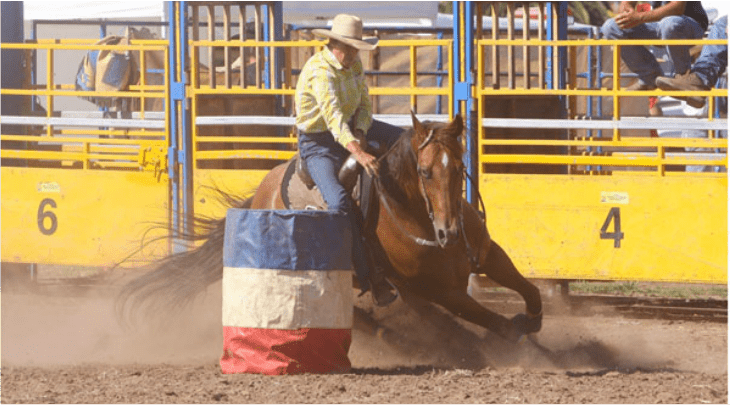 ADELE EDWARDS – THE QUEEN OF BARREL RACING Victoria Ferguson