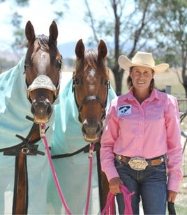 ADELE EDWARDS – THE QUEEN OF BARREL RACING