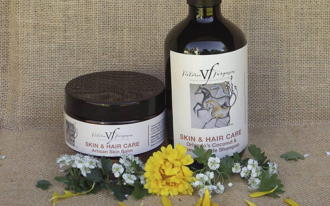 Summer products for your horse's skin and hair